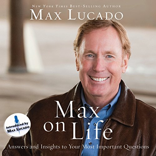 Max on Life audiobook cover art