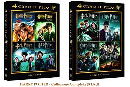 HARRY POTTER - LA COLLEZIONE COMPLETA (8 FILM - 8 DVD)