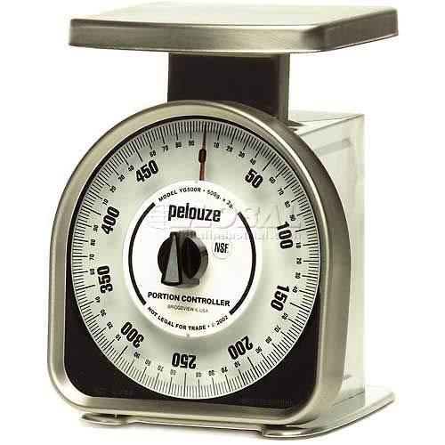 Buy Discount Health O Meter Top Load Scale 500 x 2g 6-1/2 x 4-3/4 SS Platform, YG500R