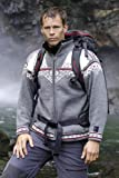 Photo de Dale of norway amundsen weatherproof veste gris Smoke/Dark Charcoal/Cream/Raspberry M
