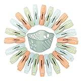 You&Lemon 30 Piezas de Pinzas de Toalla de Playa de Plástico Fuerte Clip para Tender Ropa...