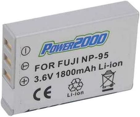 Power 2000 NP-95 Super beauty product restock quality top! Replacement half Battery 3. Rechargeable Lithium-Ion