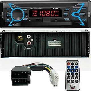 Rádio Automotivo Bluetooth/Usb/SD/Aux/ 4X15W com Controle remoto H-Tech HT-1020