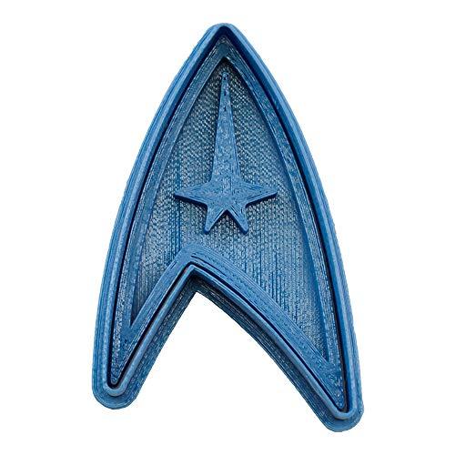 Cuticuter Star Trek Cookie Cutter, Blue, 8x 7x 1.5cm