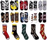 Womens Harry Potter Hogwarts Crest 12 Days Of Socks...