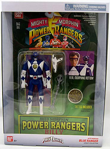 Power Rangers Auto Mighty Morphin Billy Action Figure
