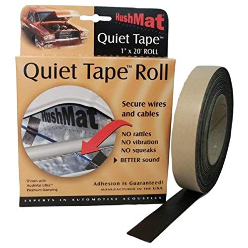 "HushMat HSM30300 1"""" x 20' Quiet Tape Shop Roll, Regular"