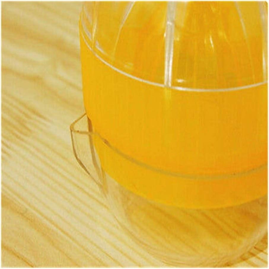 GGLLBL mágicos Manual Juicer de múltiples Funciones Manual de limón Exprimidor Doble Engrosamiento exprimidor de Naranjas de Jugo KitchenTools (Color : Yellow) Yellow