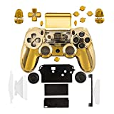 kwmobile Custodia Controller compatibile con Playstation Controller 4 (1. Gen) - Console in colore oro