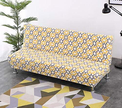 Flqwe elastische stof met anti-slip coating, voor banken met strepen, opvouwbaar, voor chaise longue