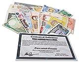 IMPACTO COLECCIONABLES Billetes del Mundo - Colección de Billetes - 25 Billetes de 25 Diferentes países del Mundo - Extranjero, Moneda, Sin Circulación...