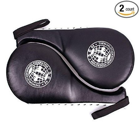Pack of 2 Taekwondo Kick Pads Target Karate Boxing Equipment Training