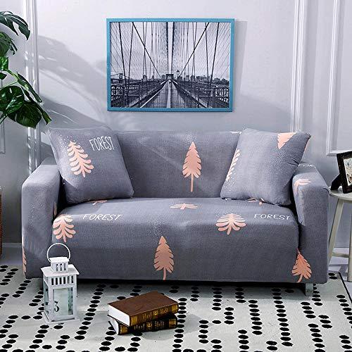 Fundas de sofá Cama Antideslizantes 2 plazas y 3 plazas, Funda de sofá elástica elástica de Color sólido, Fundas de sofá para sofás universales para Sala de Estar U