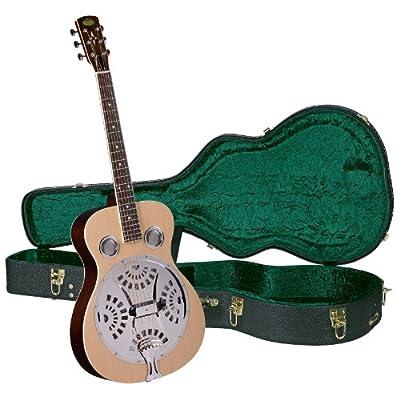 Regal RD-40N Studio Series Roundneck Resophonic Guitar - Natural
