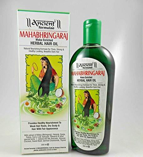 Hesh Mahabhringraj Maka Herbal Hair Oil 200mlNew