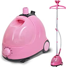 1750W Household Hanging Steam Engine 10 Hand-held Vertical Steam Hanging Clothes Iron 2.5L Pink jsmhh