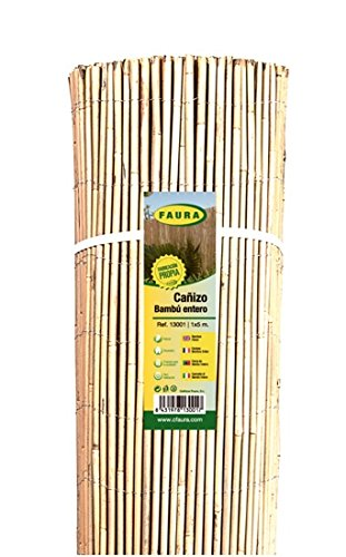 Faura 13001 Canisse Bambou Entier