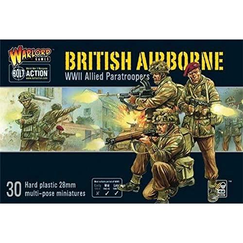 WAR-402011009A - Giochi Di Warlord - Paracadutisti Alleati Della Seconda Guerra Mondiale - Bolt Action