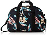 Roxy Damen PURSE/Handbag Feel Happy - mittleres Sport-dufflebag Für Frauen, Anthracite Tropicoco S, 1SZ, ERJBP04071