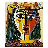 Pablo Picasso -Cubism Reproduktion Leinwand Gemälde