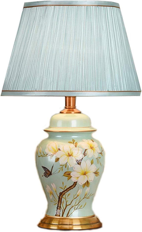 SLH Europäischen Stil tischlampe Schlafzimmer nachttischlampe kreative kreative kreative einfache warm romantische Keramik Lampe B07K2X8BNZ       Überlegene Qualität  79d9a0