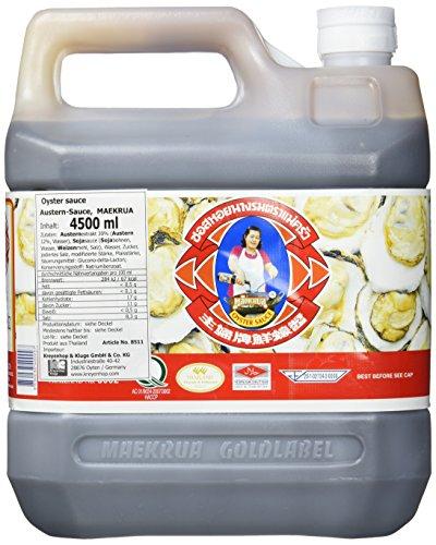 Mae Krua Oystersauce, 1. Qualität, 1er Pack (1 x 4500 ml Kanister)