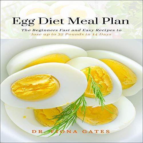 Egg Diet Meal Plan audiobook cover art