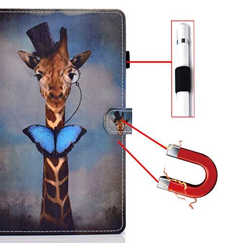 Bspring Huawei Mediapad T3 10 Hülle Case - Ultra Dünn Superleicht Flip Schutzhülle mit Zwei Einstellbarem Standfunktion für Huawei MediaPad T3 (9,6 Zoll) Tablet-PC,Hirsch - 6