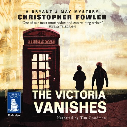 The Victoria Vanishes audiobook cover art