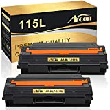 Arcon Compatible Toner Cartridge Replacement for Samsung MLT-D115L 115L Samsung Xpress SL-M2830DW SL-M2880FW SL-M2820DW SL-M2620 SL-2620ND SL-2820ND M2670 M2670FN M2670N M2870FD (Black, 2-Pack)