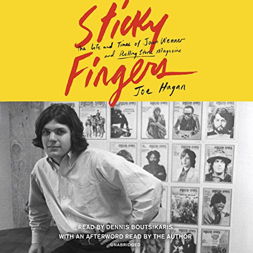 Sticky Fingers audiobook cover art