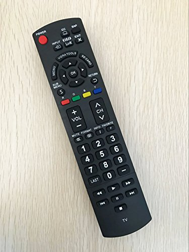 Replacement Remote Control for Panasonic TH-42PX60U TH-32LRU20 TC-L37X2 TC-26LX20 SA-HT40 Plasma LCD HDTV