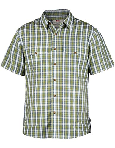 Fjällräven - Abisko Cool SS Chemise - Homme - Vert (Willow) -S