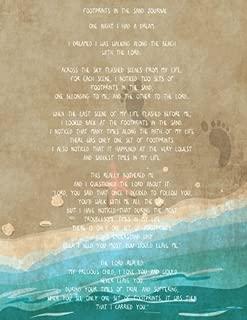 Best footprints in the sand poem lyrics Reviews