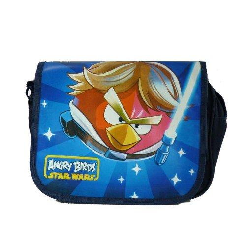 Star Wars Luke Skywalker Aves Angry Birds bolso (bolso del mensajero)