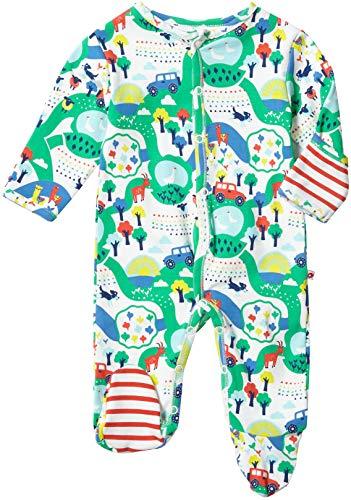 Piccalilly Baby-Jungen Malham Farm Kleinkind-Schlafanzge, Mehrfarbig, 6-12 Monate