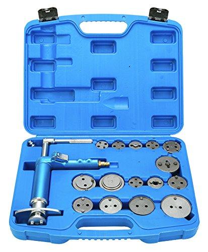 FreeTec Pistón de pinza de freno de disco neumático Juego de reposicionadores de pistones de freno, 16 piezas