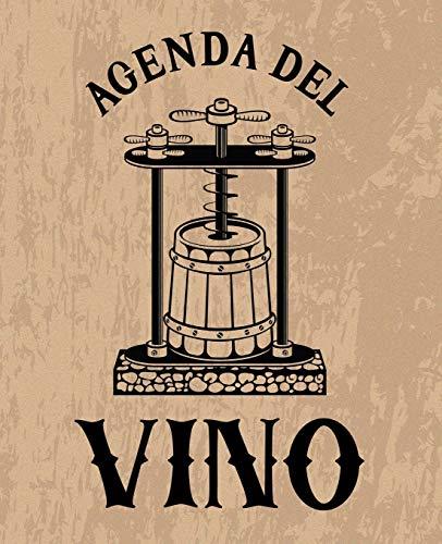 Agenda del vino: Un diario per le degustazioni degli amanti del vino marrone 0116