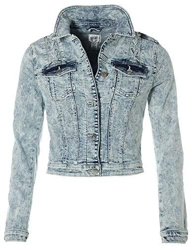 Guess Damen Jeansjacke Jacke (himmelblau, S)