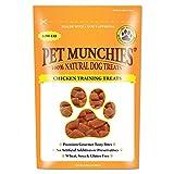 PET MUNCHIES - Paquete de 8 Bolsas de chucherías de Pato para Mascotas, recompensa para adiestramiento.