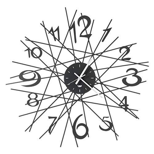 orologio da parete 70 cm diametro Arti & Mestieri Zig Zag - Orologio da Parete di Design 100% Made in Italy - in Ferro