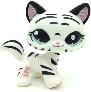 WOOMAX Littlest Pet Shop LPS zabawka luźna bardzo rzadka lampart kot #1498 dla chłopców dziewcząt dzieci prezent