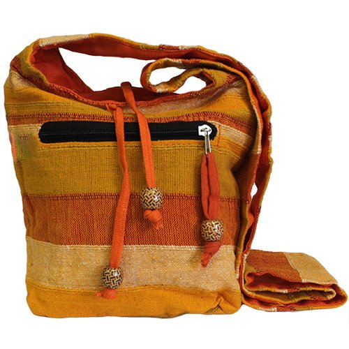 Nepal Sling Bag - Sunrise Orange