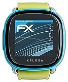 atFoliX Schutzfolie kompatibel mit XPlora Kids Folie, ultraklare FX Bildschirmschutzfolie (3X)