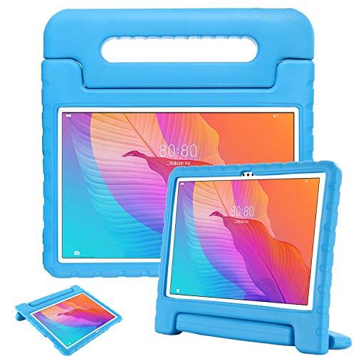 GOZOPO Funda infantil compatible con Huawei MatePad T10S/T10 2020 – Funda a prueba de golpes con soporte para Huawei MatePad T10S/T10 Case (azul)