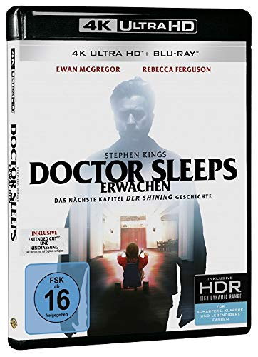 Stephen Kings Doctor Sleeps Erwachen (4K Ultra HD) (+ 2 Blu-rays 2D)