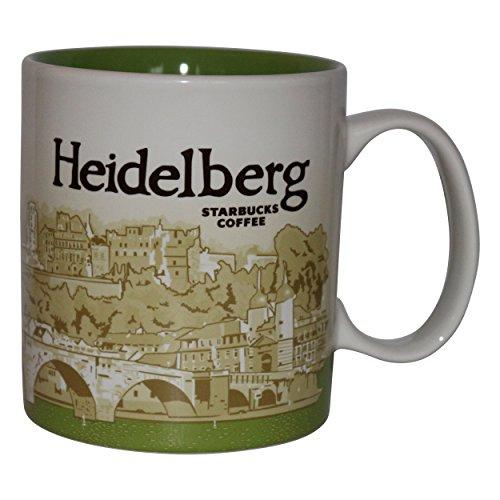 Starbucks City Mug Heidelberg Germany Icon Serie Coffee Cup Tasse