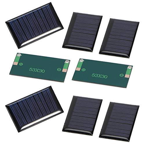 Mini Panel Solar, Polysilicon Hizo un Cargador de células epoxi de 0.15W 0.03A para Cargar baterías DC pequeñas