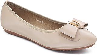 SHOOOZ Girls' Belly Shoes Trendy Ballet Flat for Girls & Women