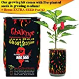 Jays Red Ghost Scorpion Chili Pepper Plant - 800,000 Heat Level